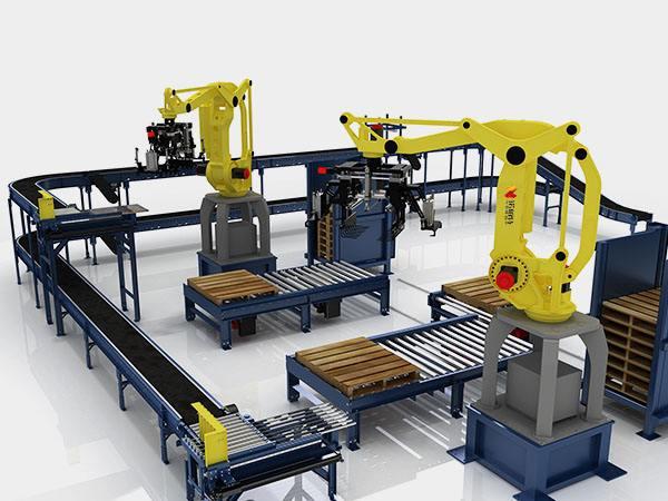 多线精确码垛移动机器人技术转移项目