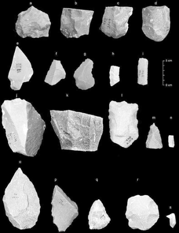 """38.5万年前的石器令人遐想—— 人类""""走出非洲""""时间或更早"""